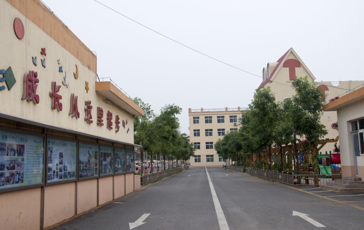 小学�y.bz(�ZJ~XZ_环境优美的溪翁庄镇中心小学